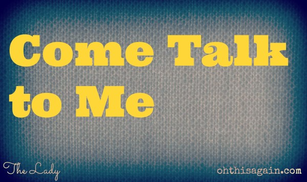 Come Talk to Me logo